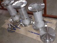 Fabrication of SS reducers and Pressure testing -After