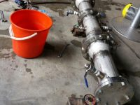 Fabrication of SS reducers and Pressure testing - After