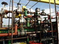 Flow Meter Pipe line modification and Installation