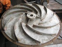IG Fan Impeller Fabrication - Before