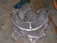 Mushroom Vent Head Covers Fabrication - Before