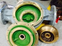 SS Bronge Impeller casting and Machining - After